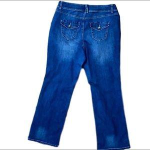 Lane Bryant Straight Leg Jeans size 16